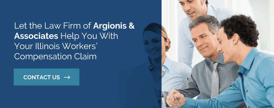 Let the Law Firm of Argionis & Associates Help You With Your Illinois Workers' Compensation Claim