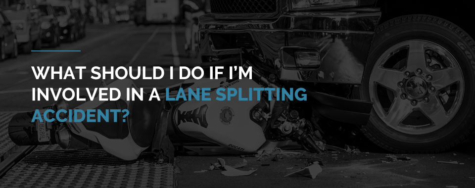 lane splitting accident