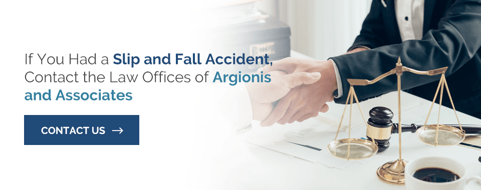 Common Slip and Fall Injury Symptoms - Argionis Law